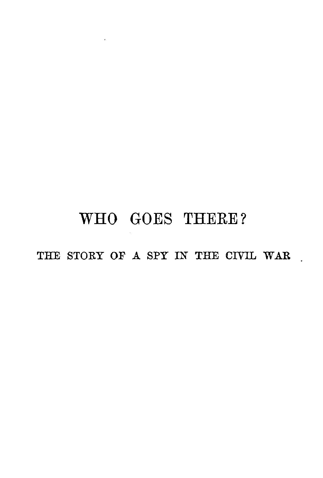 B. K. Benson - The Story Of A Spy In The Civil War
