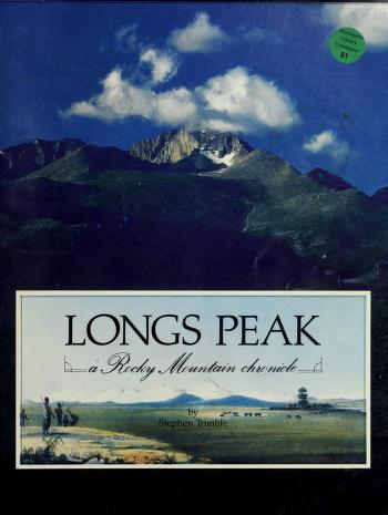 Cover of: Longs Peak | Stephen Trimble