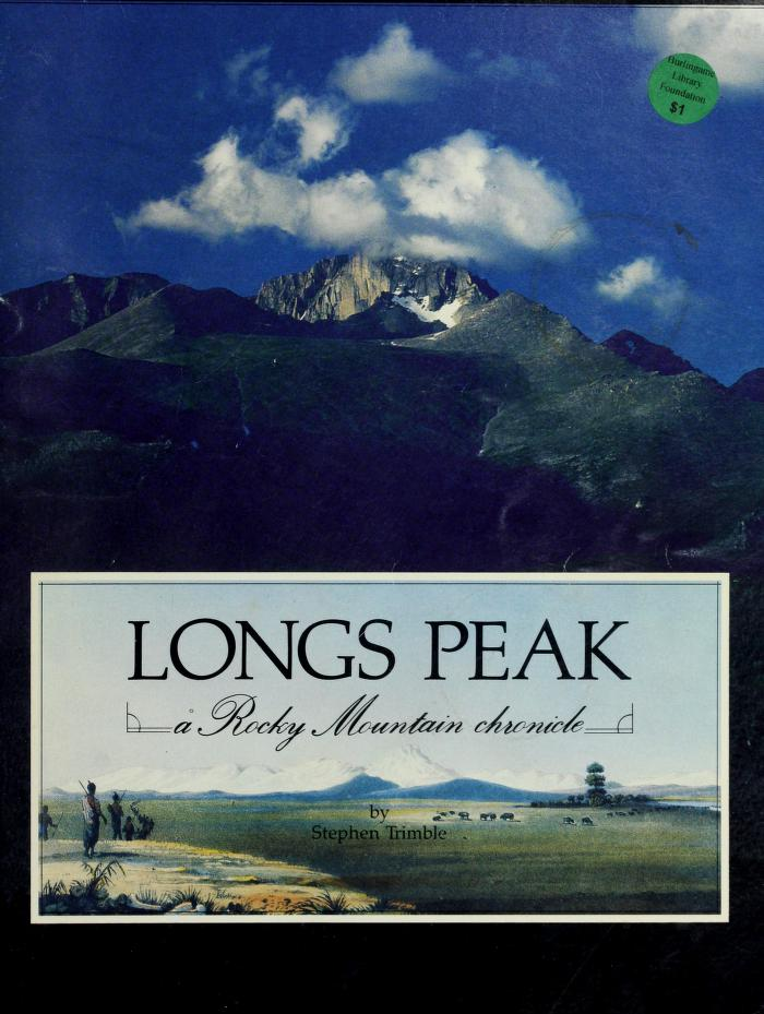 Longs Peak by Stephen Trimble
