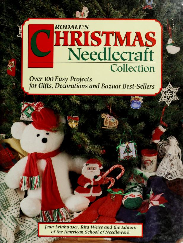 Rodale's Christmas needlecraft collection by Jean Leinhauser